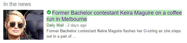 Keira headline