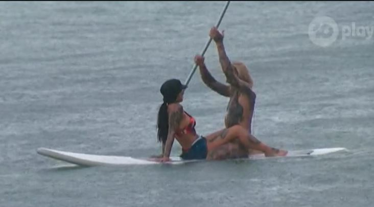 romantic paddle